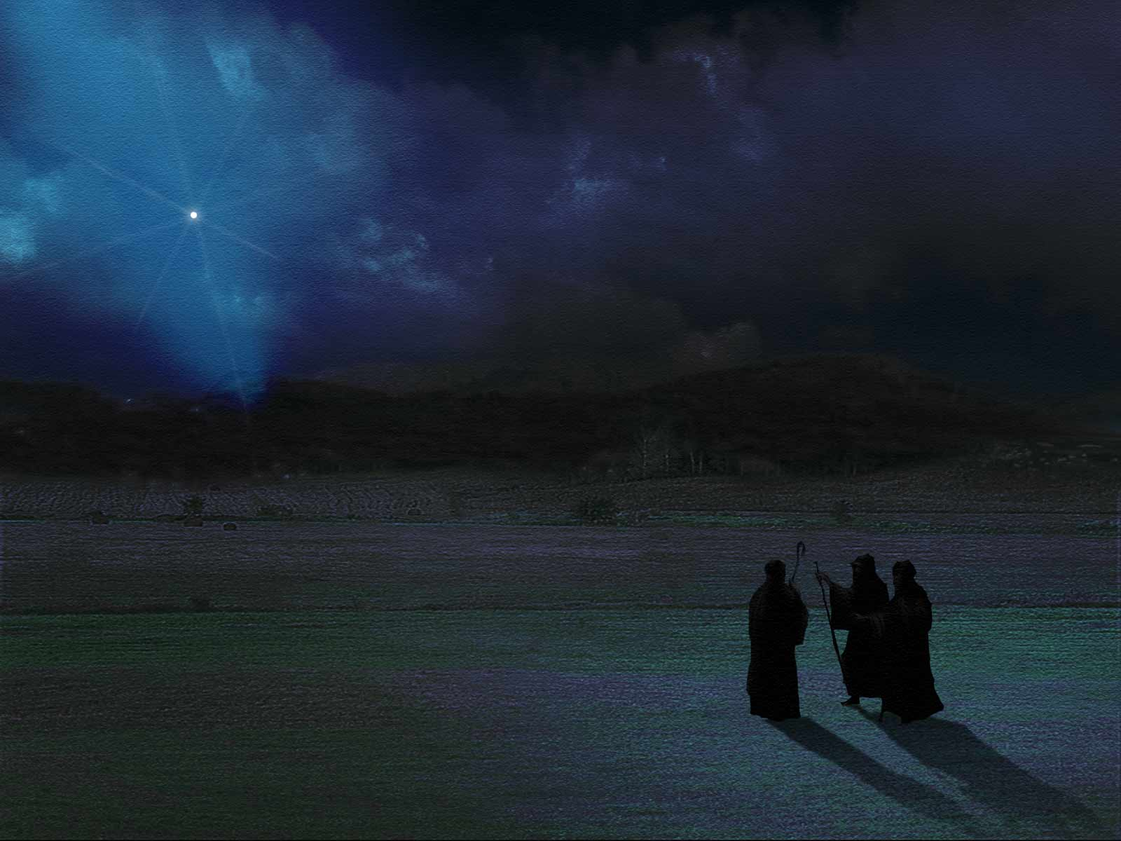 Shepherds following the star. Source: http://wallpapercave.com/w/bFANYYR